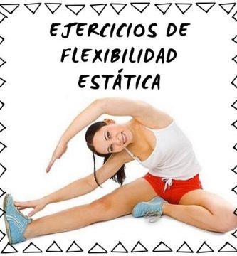 flexibilidad estatica